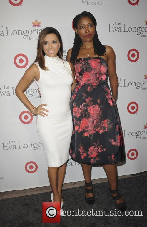 Eva Longoria and Laysha Ward 5