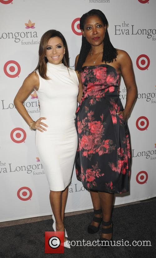 Eva Longoria and Laysha Ward 6