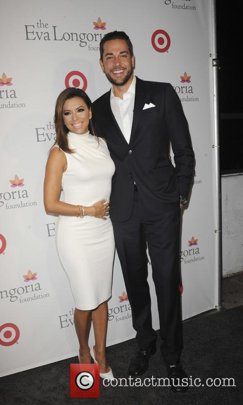 Eva Longoria and Zachary Levi 10