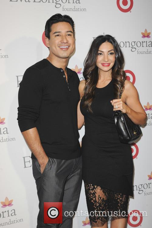Mario Lopez and Courtney Lopez 1