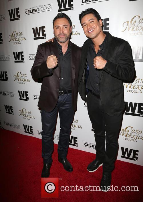 Oscar De La Hoya and Mario Lopez 3