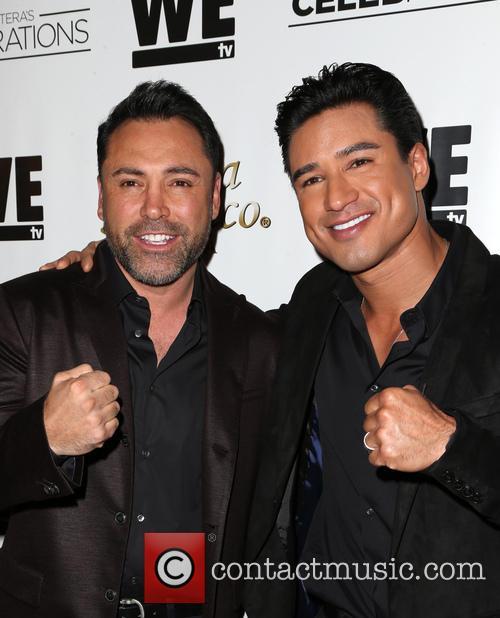 Oscar De La Hoya and Mario Lopez 5