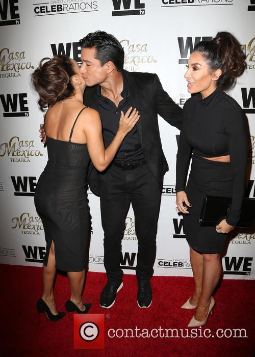 Eva Longoria, Mario Lopez and Courtney Mazza 4