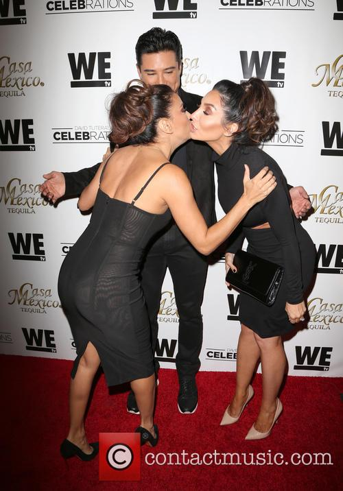 Eva Longoria, Mario Lopez and Courtney Mazza 6