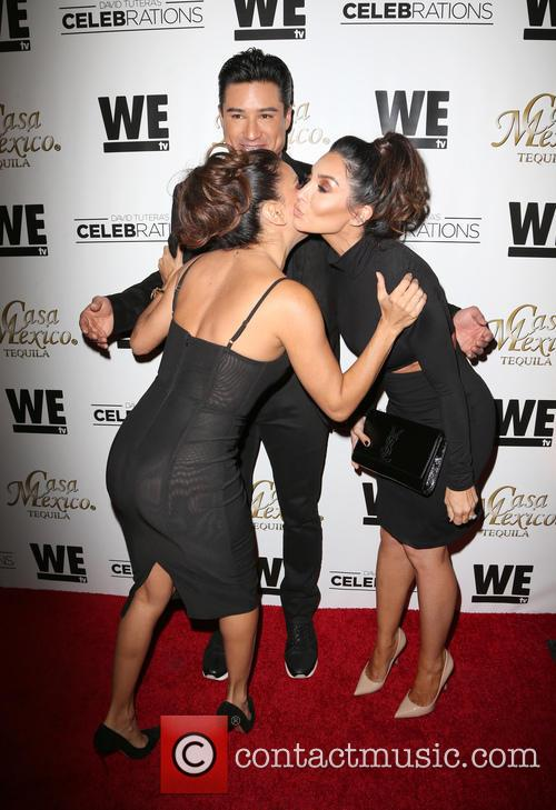 Eva Longoria, Mario Lopez and Courtney Mazza 7