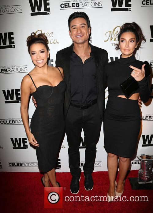 Eva Longoria, Mario Lopez and Courtney Mazza 9