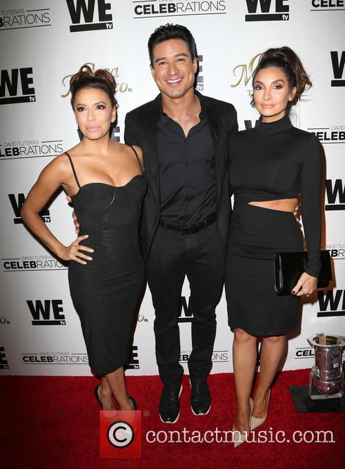 Eva Longoria, Mario Lopez and Courtney Mazza 10