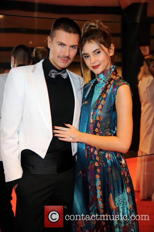 Andre Borchers and Stefanie Giesinger 6