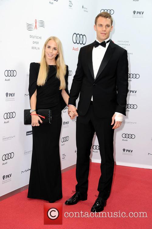 Manuel Neuer and Nina Weiss 1
