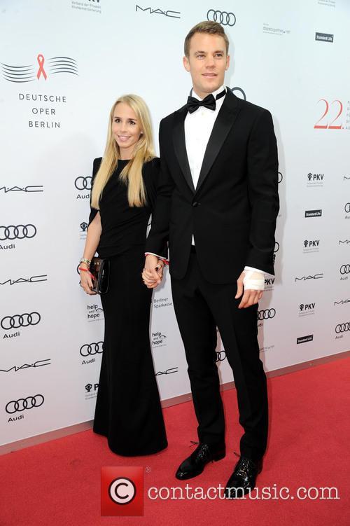 Manuel Neuer and Nina Weiss 2