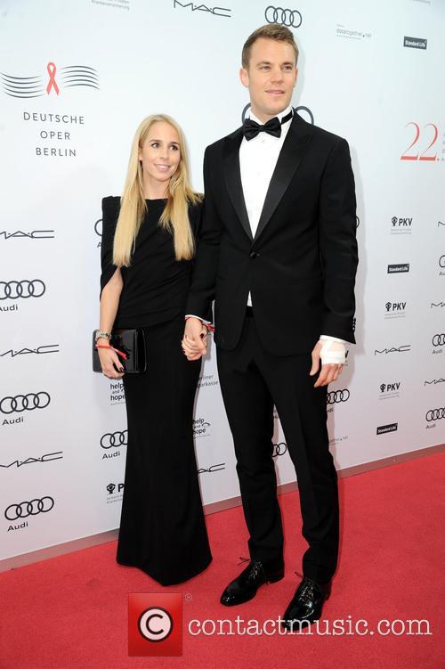 Manuel Neuer and Nina Weiss 3