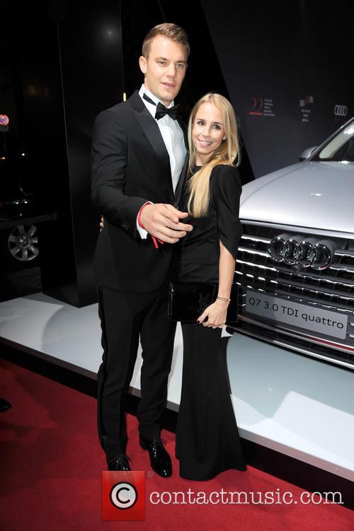 Manuel Neuer and Nina Weiss 4