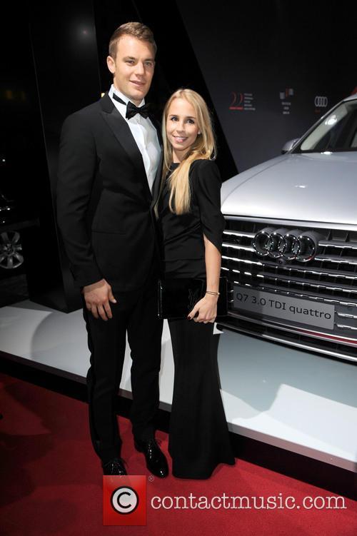 Manuel Neuer and Nina Weiss 5