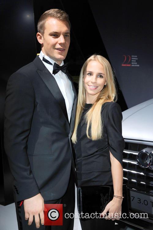 Manuel Neuer and Nina Weiss 6