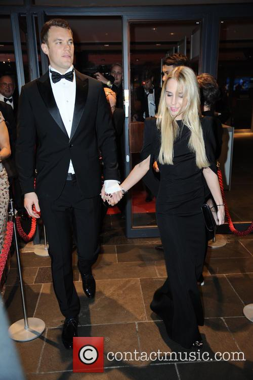 Manuel Neuer and Nina Weiss 7