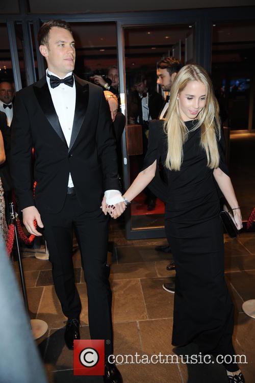 Manuel Neuer and Nina Weiss 8