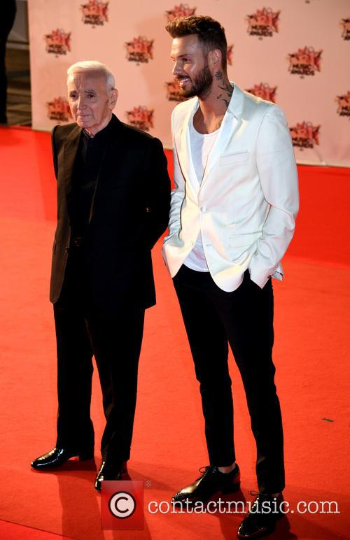 Charles Aznavour and Mc Pokora 2