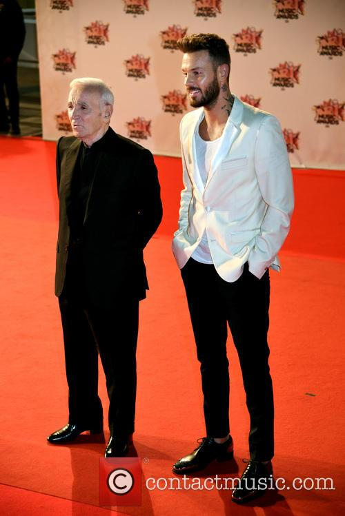 Charles Aznavour and Mc Pokora 3