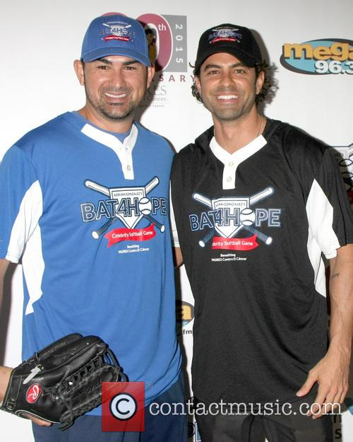 Adrian Gonzalez and Adrian Bellani
