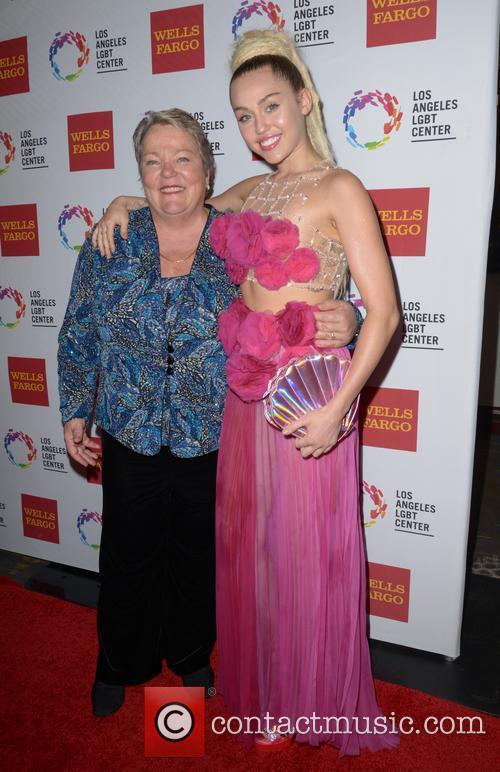 Lorri L. Jean and Miley Cyrus 2