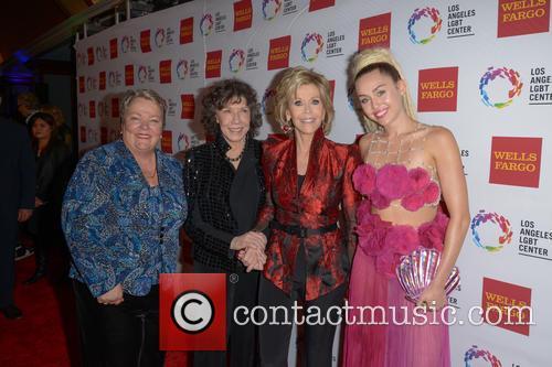 Lorri L. Jean, Lily Tomlin, Jane Fonda and Miley Cyrus 10