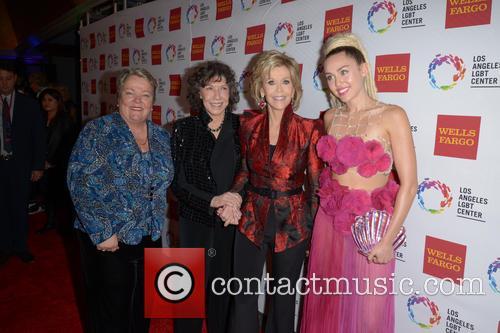 Lorri L. Jean, Lily Tomlin, Jane Fonda and Miley Cyrus 11