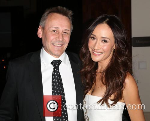 Peter Knights and Maggie Q 1