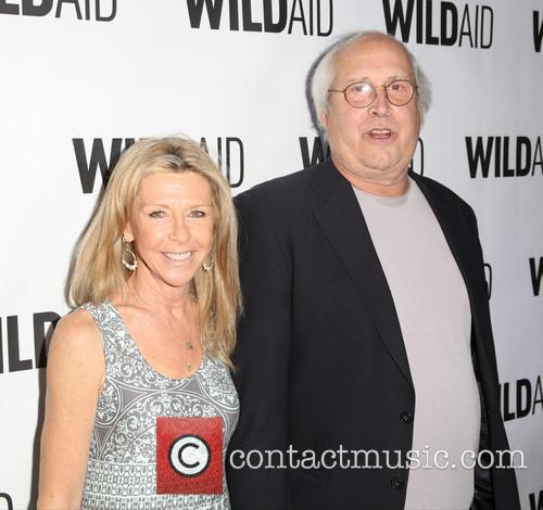 Jayni Chase and Chevy Chase 2