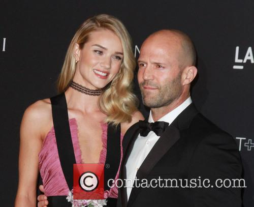 Rosie Huntington Whiteley and Jason Statham 3
