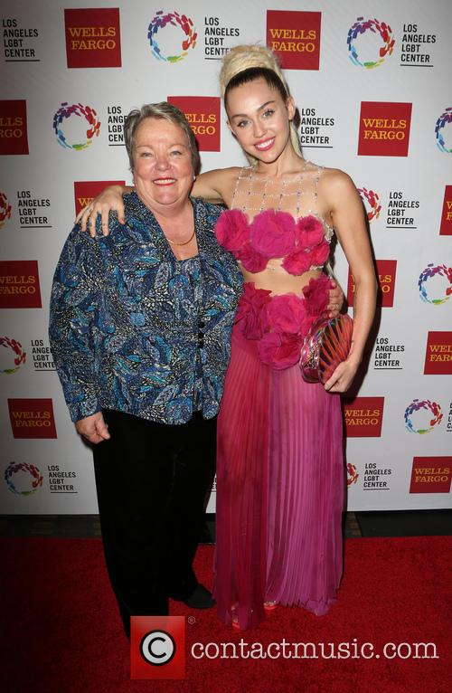 Miley Cyrus and Lorri L. Jean 4