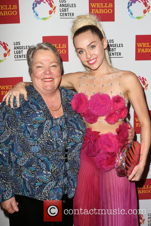 Miley Cyrus and Lorri L. Jean 5