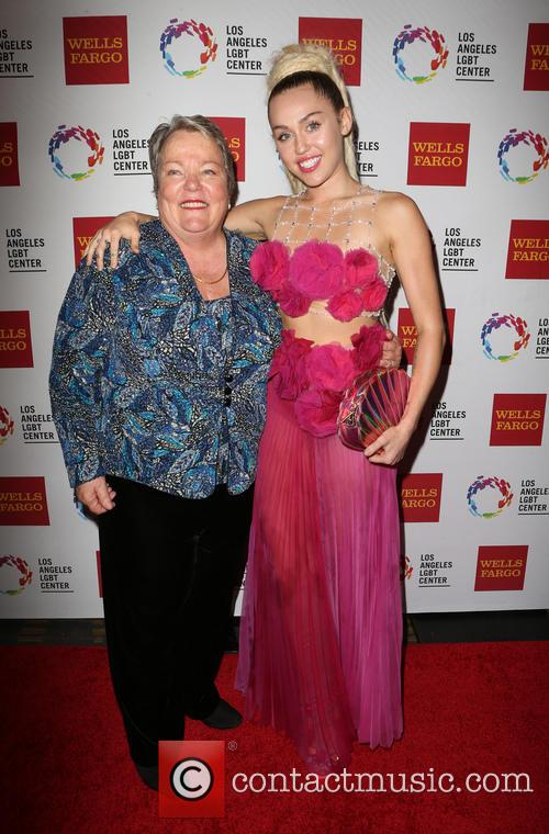 Miley Cyrus and Lorri L. Jean 6
