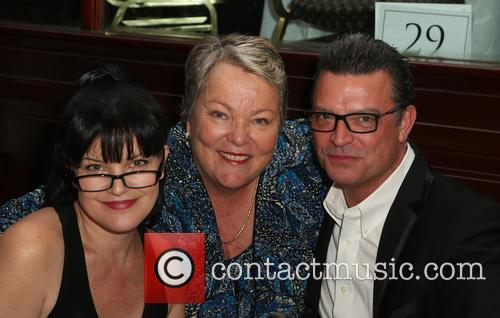 Pauley Perrette, Lorri L. Jean and Thomas Arklie 1