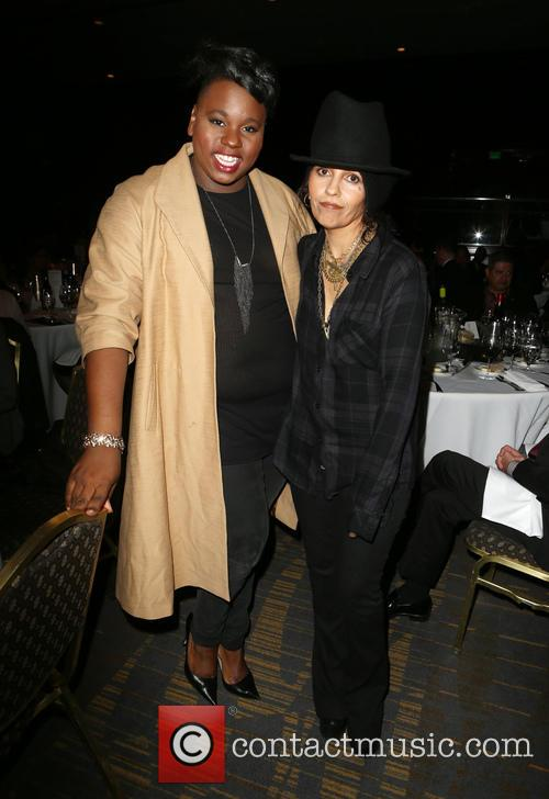 Alex Newell and Linda Perry 6