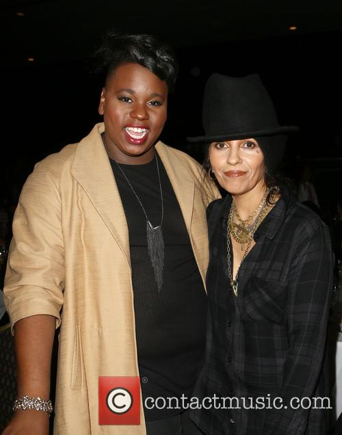 Alex Newell and Linda Perry 9