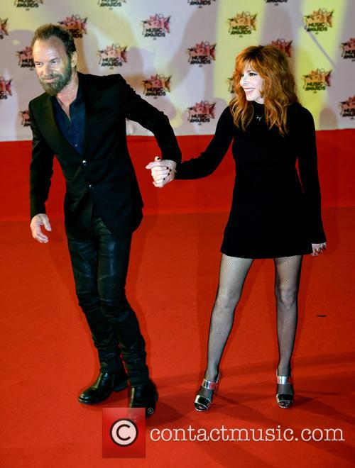 Sting and Mylène Farmer 5