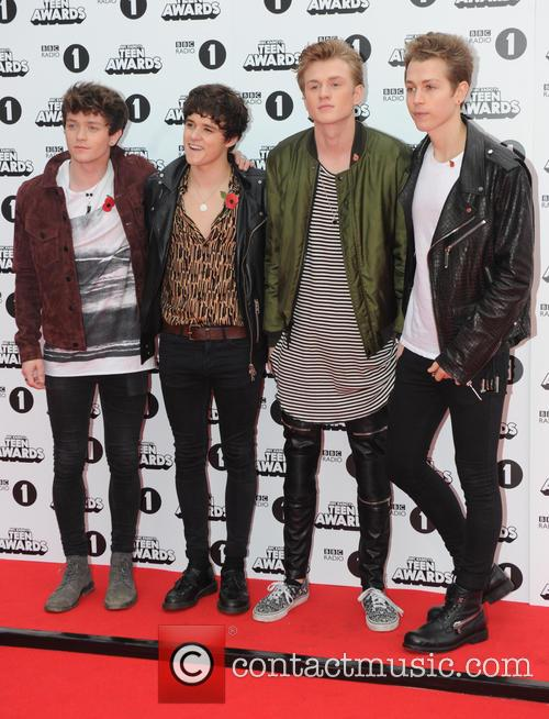 Bradley Simpson, Connor Ball, Tristan Evans and James Daniel Mcvey 2