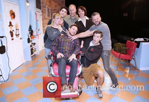 Drew Lachey, Kate Middleton, Adam Gerber, Patrick Noonan, Lynne Wintersteller, Jeremy Kushnier and Jordan Ahnquist 1