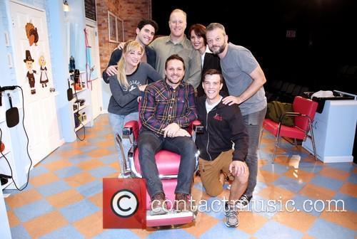 Drew Lachey, Kate Middleton, Adam Gerber, Patrick Noonan, Lynne Wintersteller, Jeremy Kushnier and Jordan Ahnquist 3
