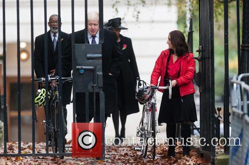 Boris Johnson and Marina Wheeler 1
