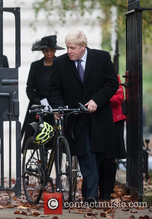 Boris Johnson and Marina Wheeler 2
