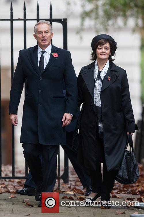 Tony Blair and Cherie Blair 2