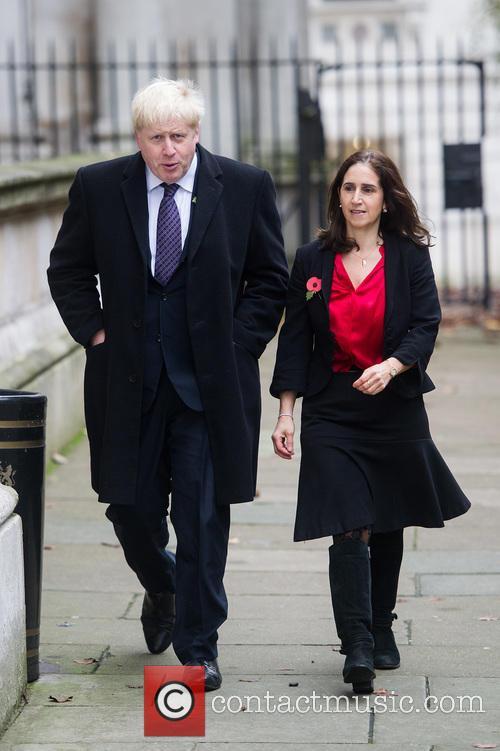 Boris Johnson and Marina Wheeler 4