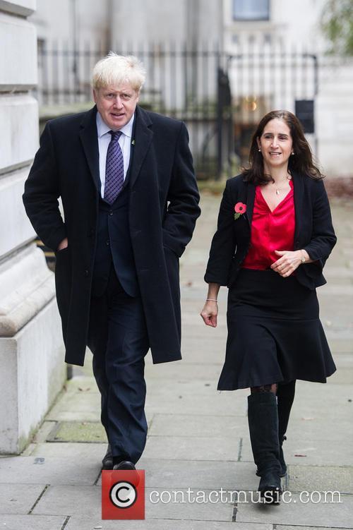 Boris Johnson and Marina Wheeler 5