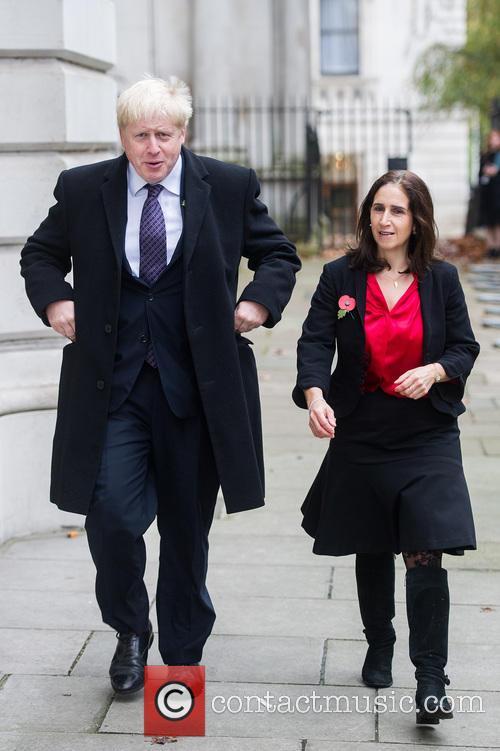Boris Johnson and Marina Wheeler 7