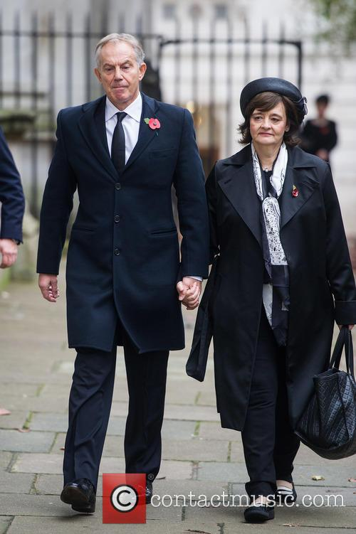 Tony Blair and Cherie Blair 7
