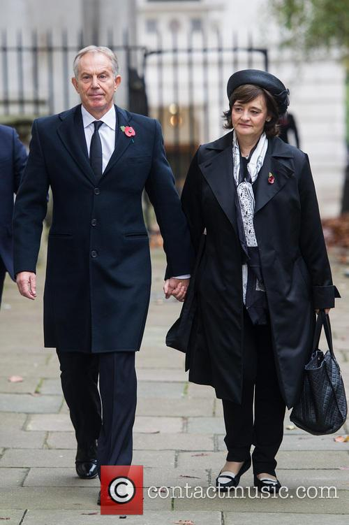 Tony Blair and Cherie Blair 8