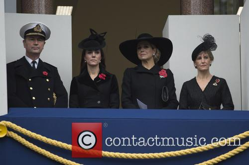 Remembrance Sunday Service, Cenotaph, London, England, 08/11/15