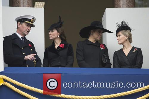 Sophie Duchess Of Wessex and Duchess Of Cambridge 1