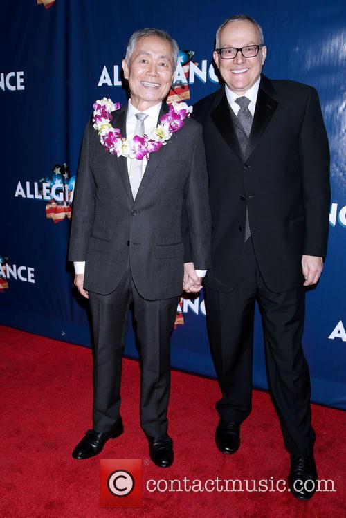 George Takei and Brad Takei 2